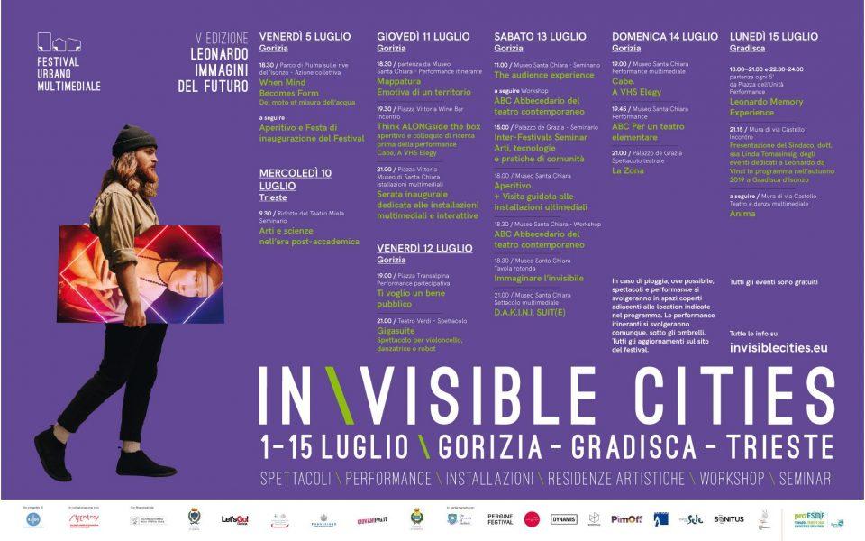 Programma sintetico del Festival Invisible cities