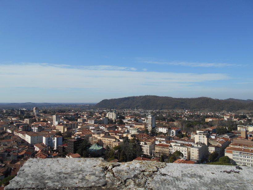 Panoramica dal castello di Gorizia