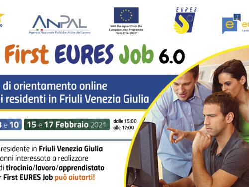 Laboratori online Your First Eures Job 6.0 per giovani residenti in Friuli Venezia Giulia