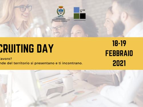 Recruiting day 18-19 febbraio 2021